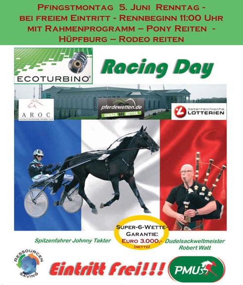 ecoturbino racing day