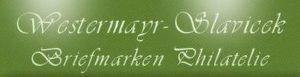 Briefmarken Westermayr-Slavicek